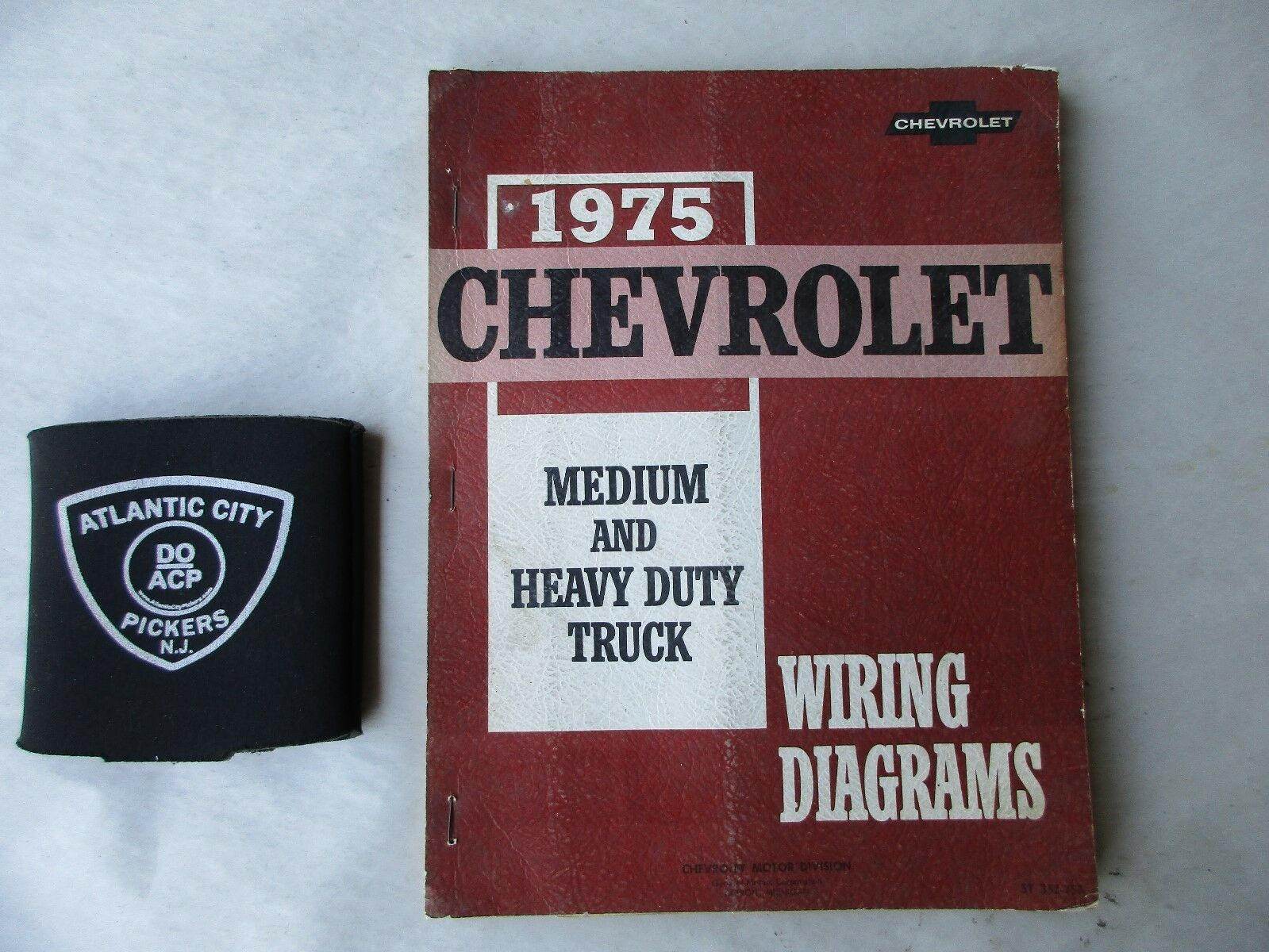 1975 Chevrolet Medium & Heavy Duty Truck Service Wiring Diagrams Manual 1  of 4Only 1 available ...