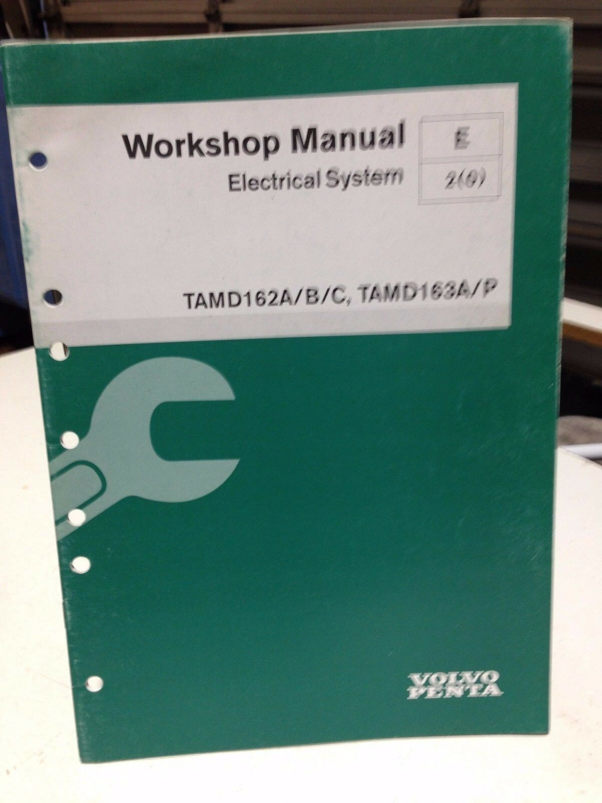 VOLVO PENTA WORKSHOP MANUAL ELECTRICAL SYSTEM P/N 7739095 (dbx1) 1 of 3Only  1 available ...