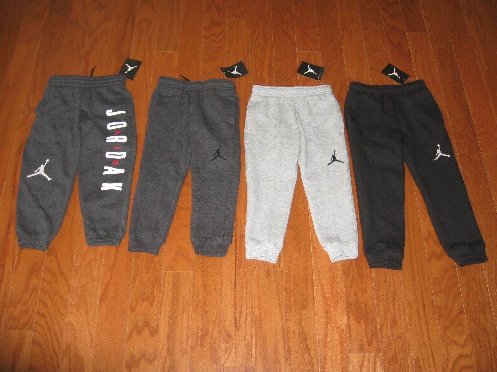 08a9ff64ffa0 kids jordan clothing champs sports  nike air jordan boys athletic fleece  jogger pants size 4 5 6 7