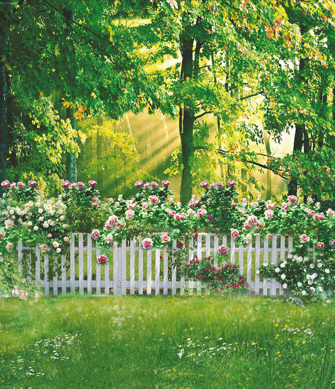 1 Of 3Only Available Vinyl Studio Garden Backdrop Kids Photography Props Photo Background 5X7FT 6363