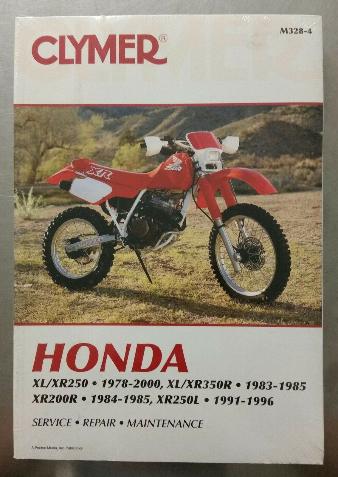 *Clymer Service / Repair Manual for Honda XL/XR250-350, XR200R, 1 of 1Only  1 available See More