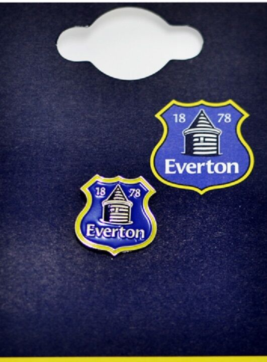 NEW OFFICIAL EVERTON football club pin badge the toffees The Blues ...
