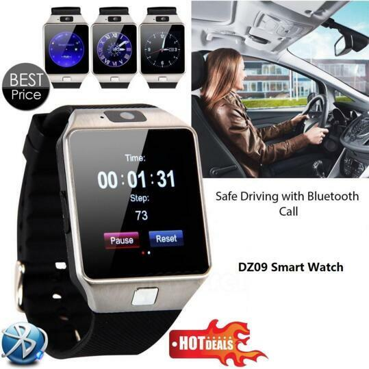 746 montre connect e tactile smart watch android smartphone cam ra connecter eur 14 90. Black Bedroom Furniture Sets. Home Design Ideas