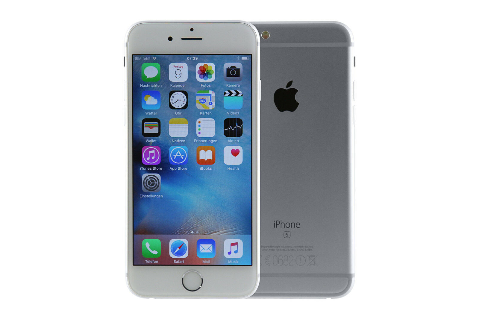 apple iphone 6s plus silber 64 gb ohne simlock guter zustand aktion eur 489 99 picclick be. Black Bedroom Furniture Sets. Home Design Ideas
