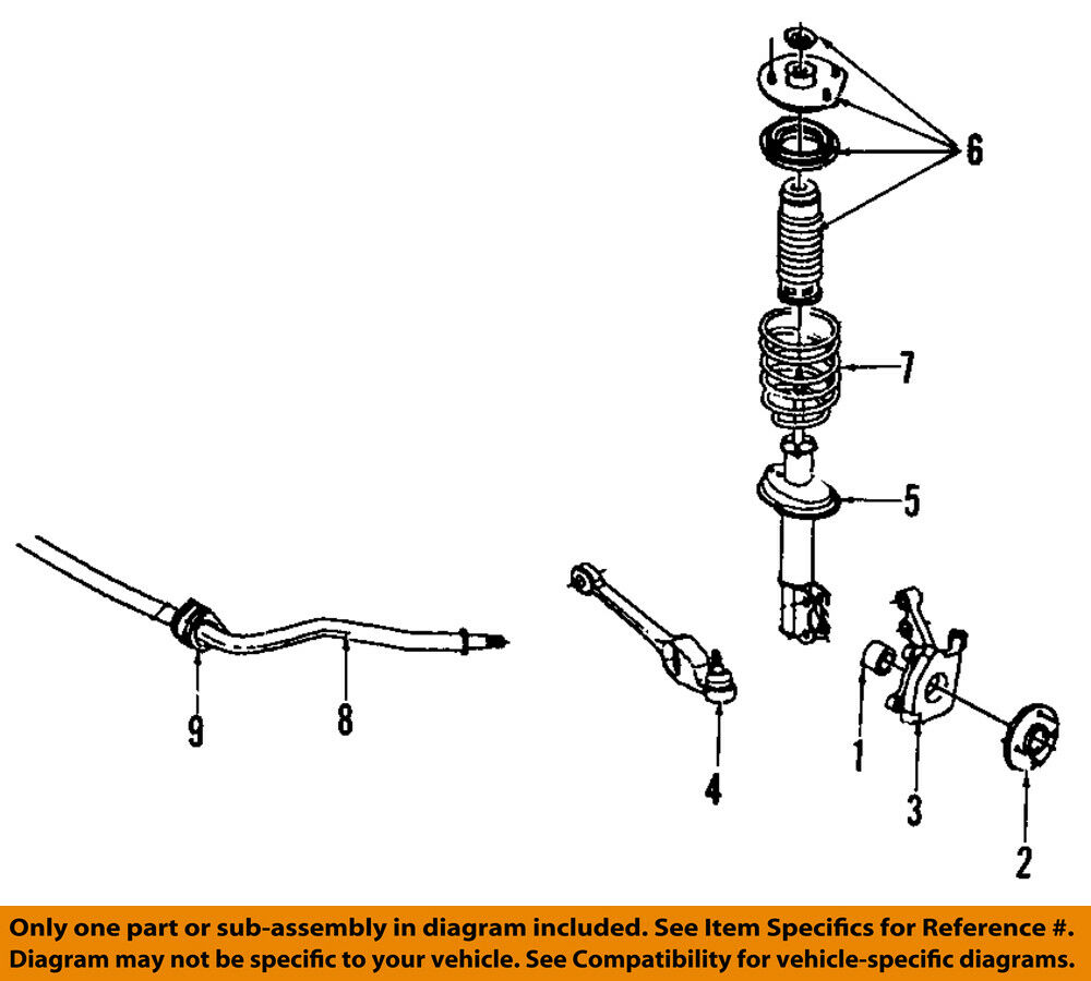 Saturn Gm Oem 91 02 Sl2 Stabilizer Sway Bar Front Bushings 21011235 Sc2 Transmission Diagram 1 Of 1only 3 Available