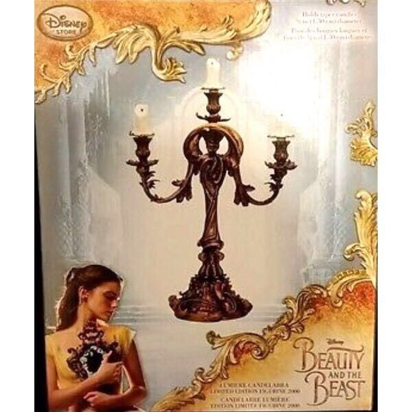 Lumiere Limited Edition Disney Beauty And The Beast