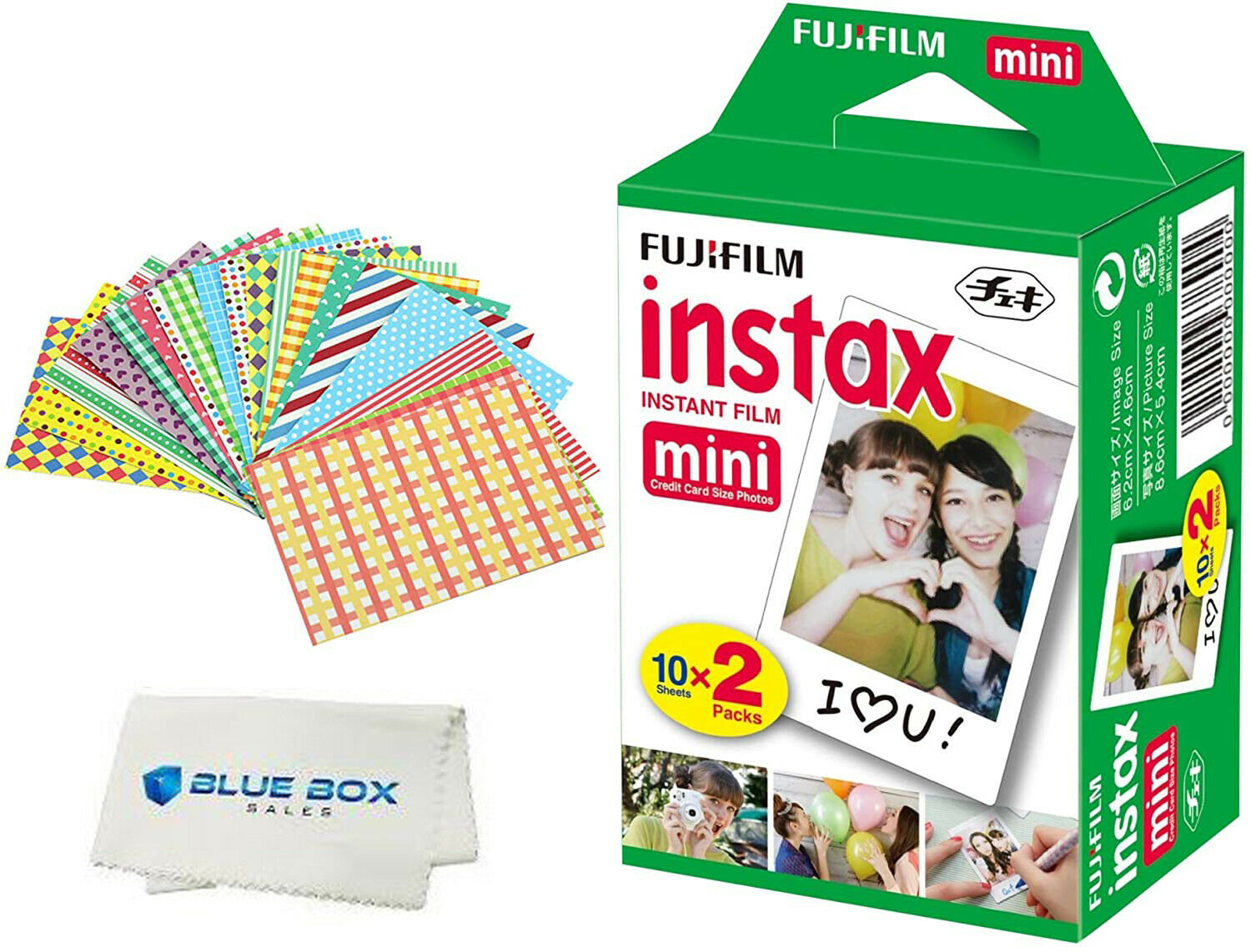 Fujifilm Instax Mini Instant Film 20 Sheets For 8 9 Cameras Paper Comic 1 Of 3free Shipping