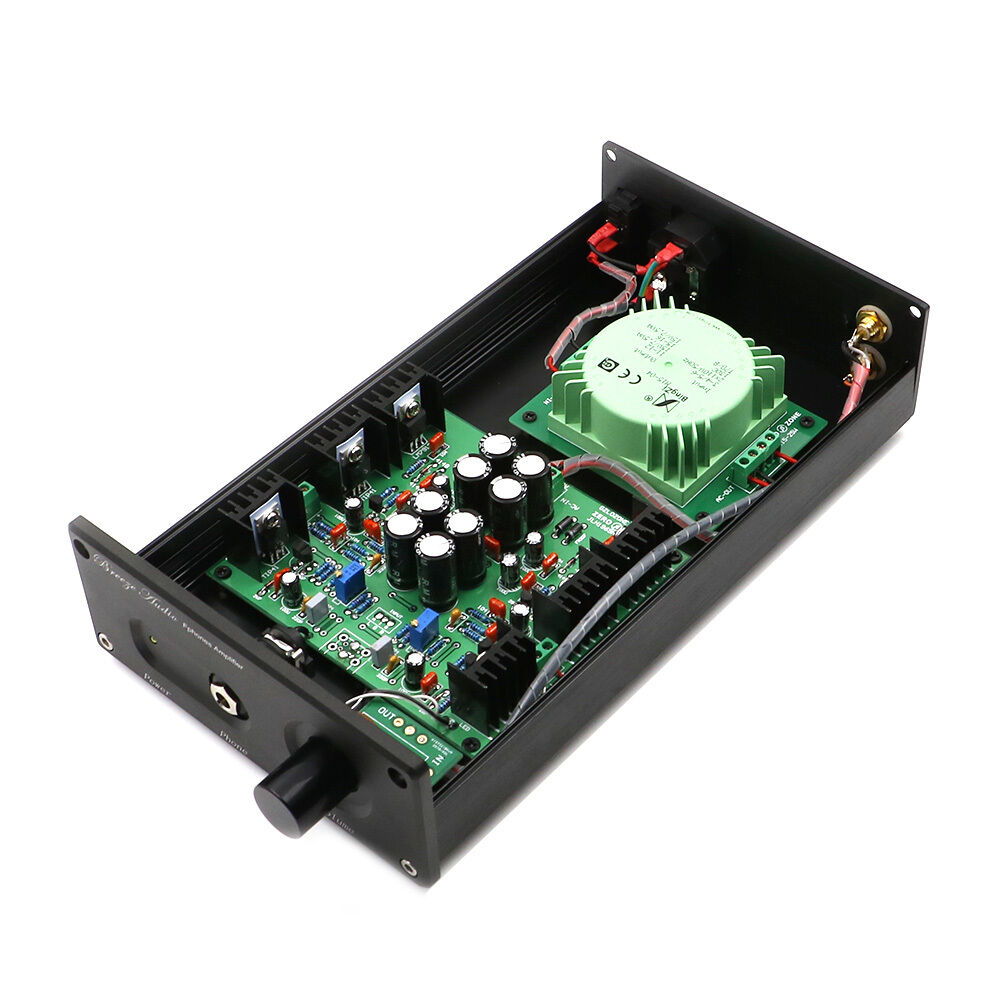 Finished Hifi Jlh Hood1969 Class A Headphone Amplifier Amp 110v Hi Fi 1 Of 4only 2 Available