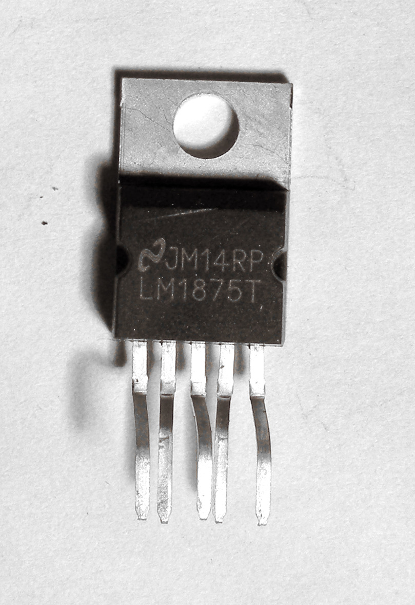 Lm1875t Audio Amplifier Ic 250 Picclick Uk 20w Using Lm1875 1 Of See More