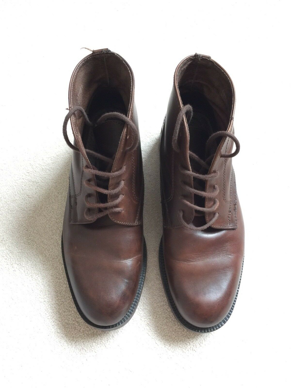 next s brown leather boots size 11 163 17 61