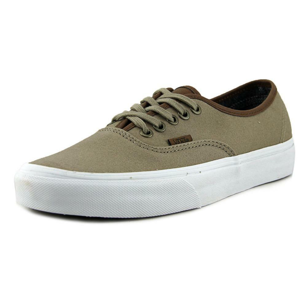 VANS AUTHENTIC (C&L) SI Men Round Toe Canvas Tan Skate ... Canvas Shoes For Men Price