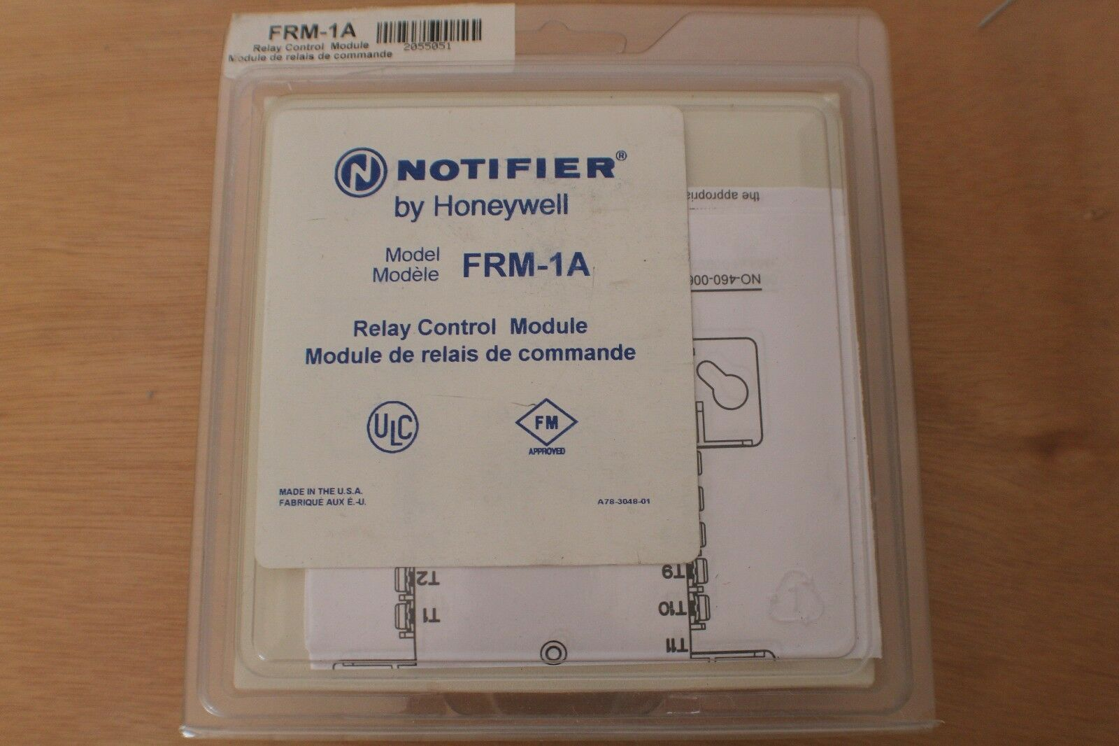 Honeywell NOTIFIER FRM 1A Relay Control Module Intelligent Address Device notifier fcm 1a wiring diagram notifier cmx 2 control module  at fashall.co