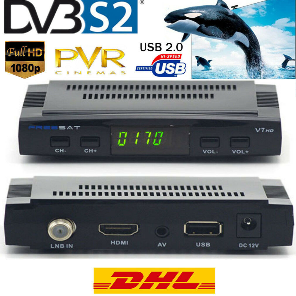 dvb s2 sat receiver usb hdtv hd reseiver hdmi kabel fullhd freesat v7 usb 3g dpj eur 23 02. Black Bedroom Furniture Sets. Home Design Ideas