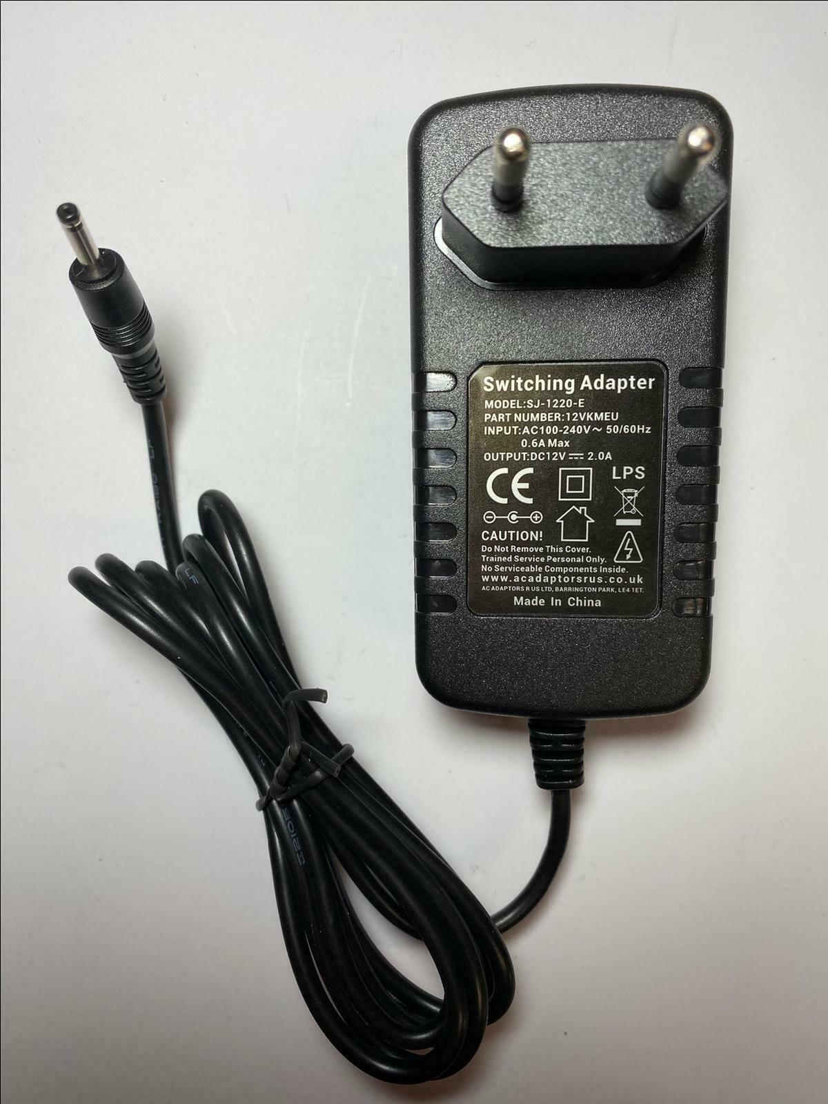 Eu 12v 2a Ac Dc Switching Adaptor Power Supply For Acer Aspire 1 Of 5free Shipping