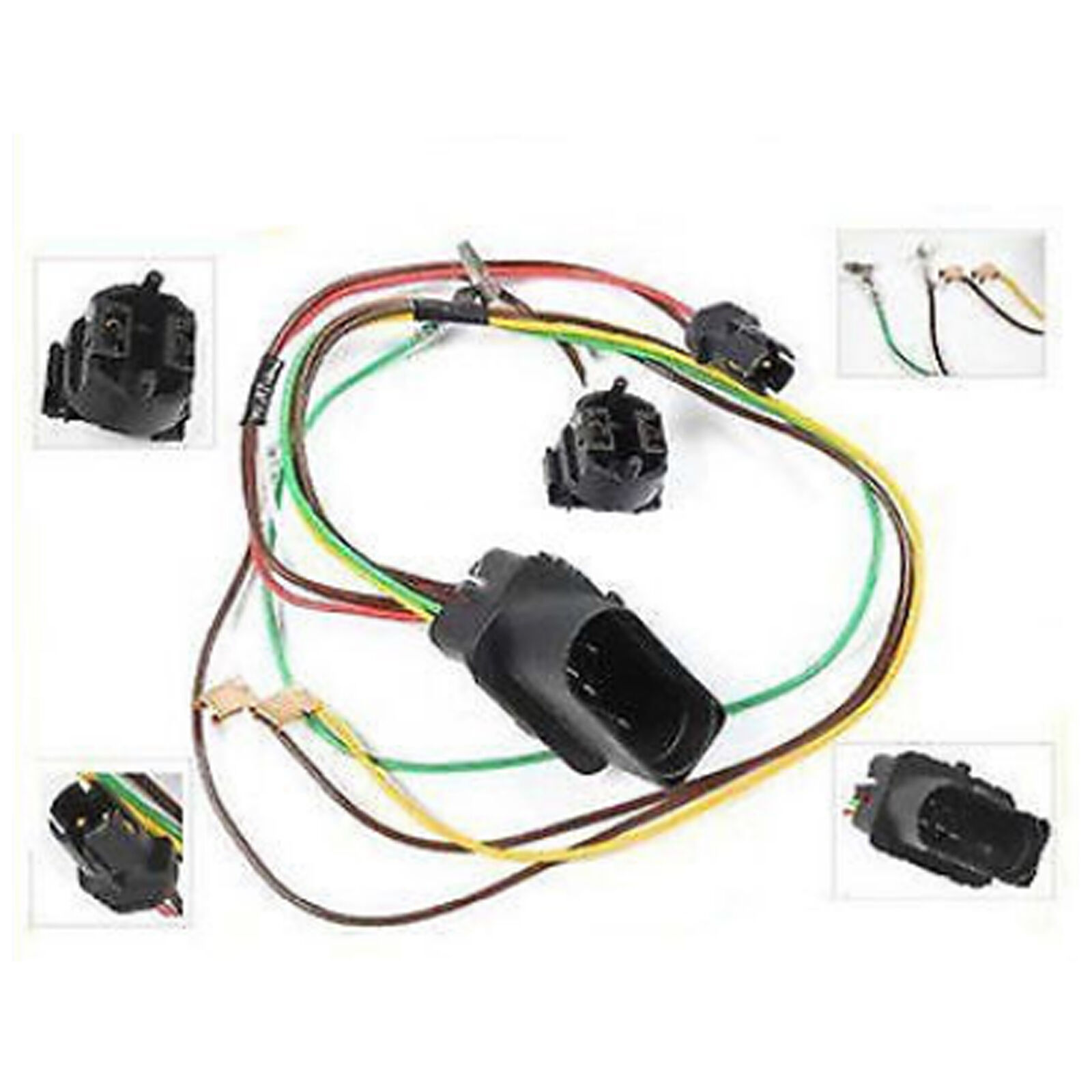 headlight head lamp wiring harness connector repair kit d068l for 01 rh picclick com Ford Wiring Harness Connectors OEM Wiring Harness Connectors