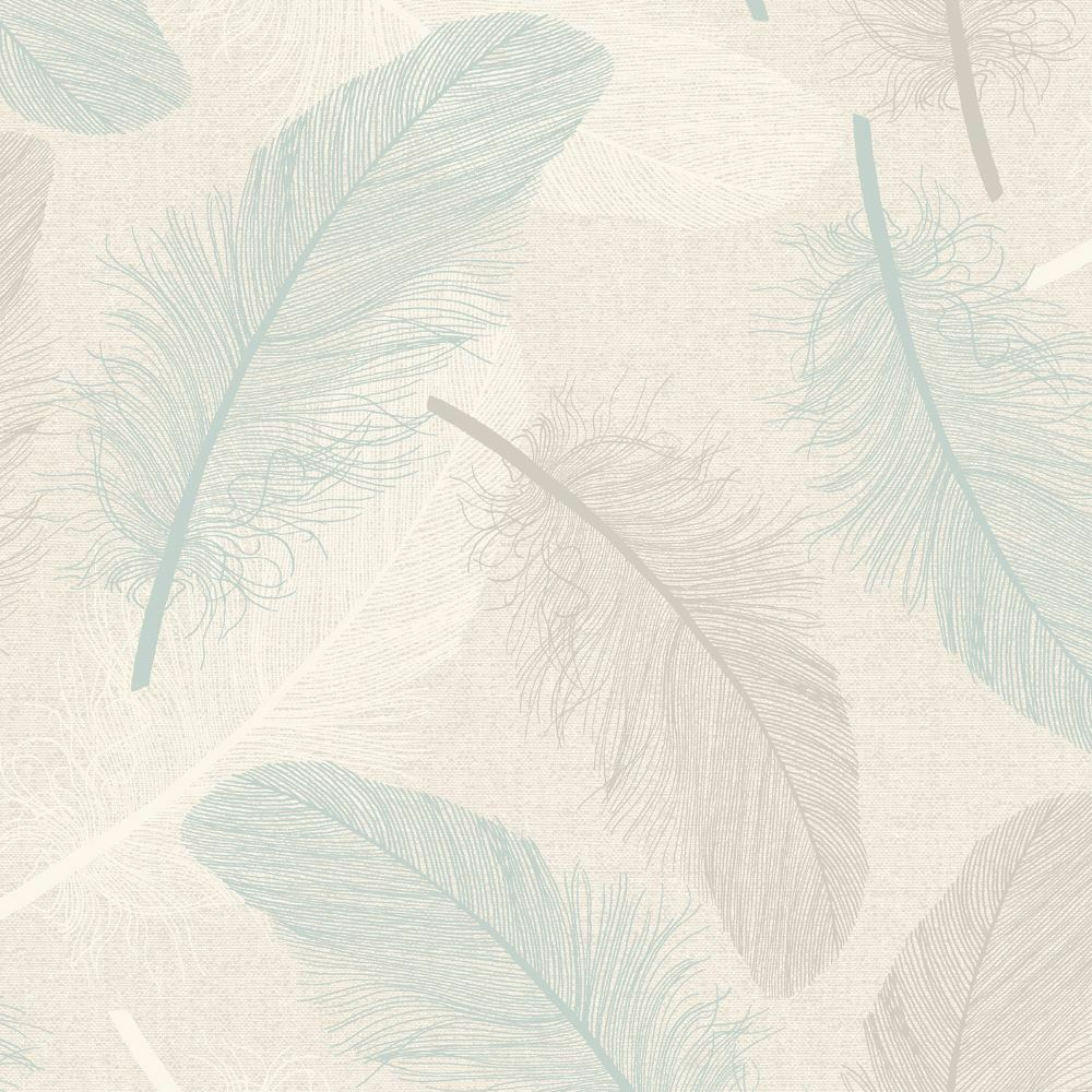 Holden Maisey Feather Pattern Wallpaper Leaf Glitter Embossed Metallic 75761 1 Of 2FREE Shipping
