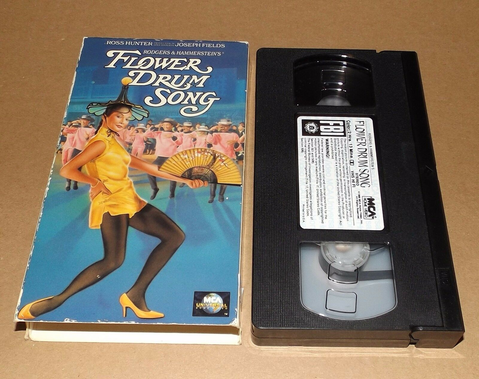Flower Drum Song VHS 1991 Nancy Kwan • CAD $29 99 Pic CA