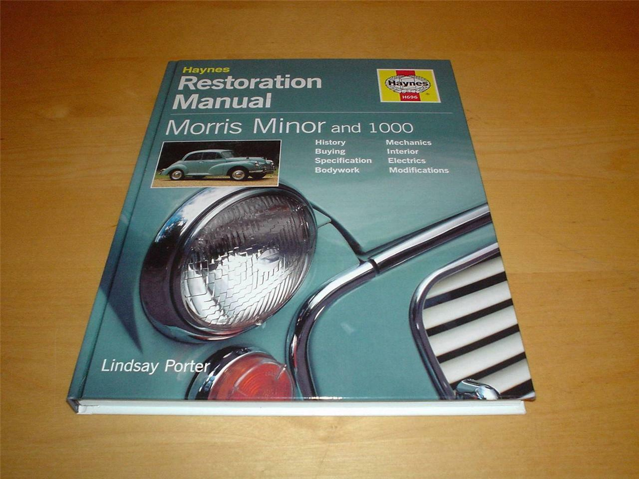 MORRIS MINOR RESTORATION BOOK 1000 MM TRAVELLER Haynes Owners Manual  Handbook 1 of 8Only 1 available ...