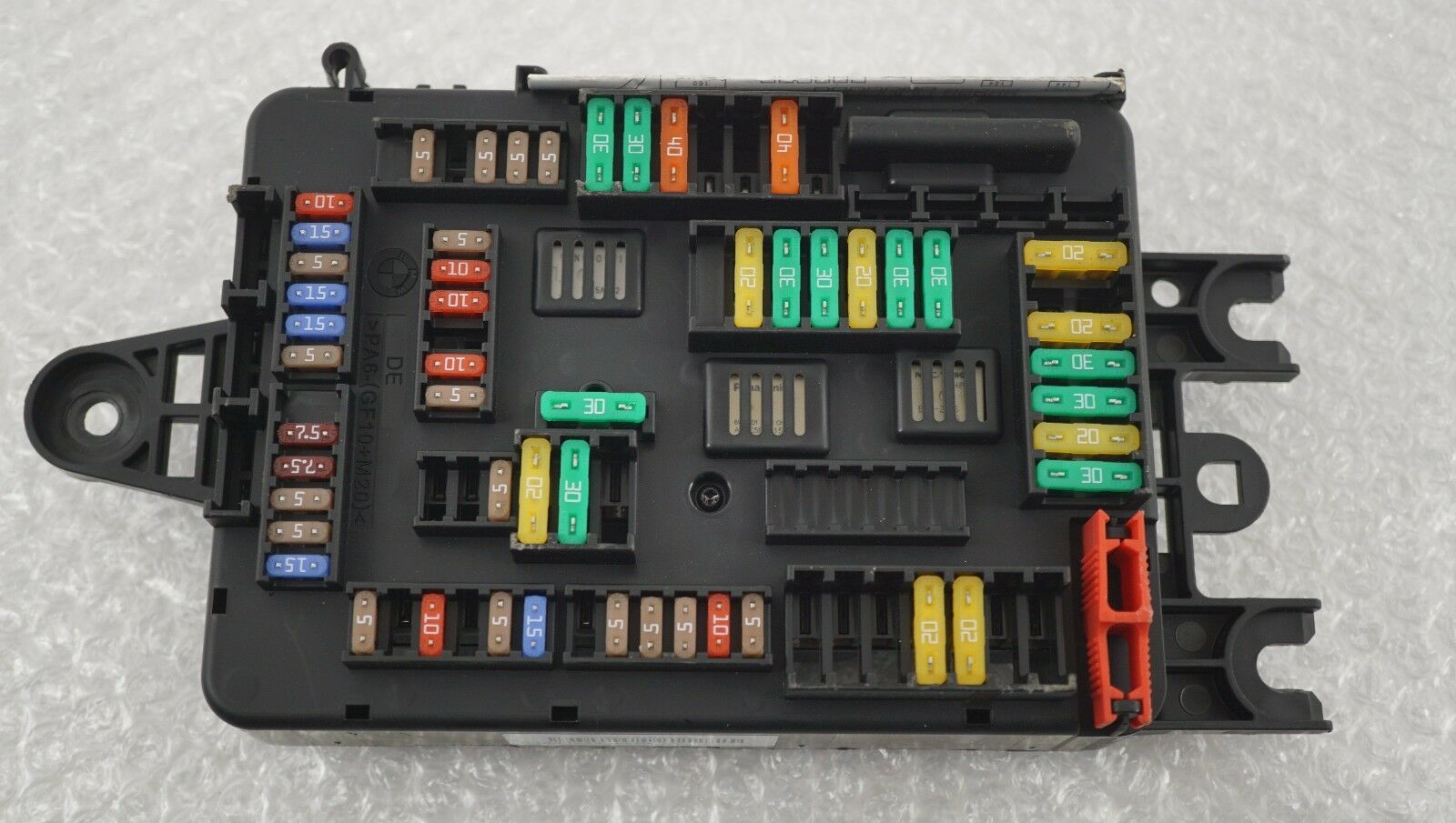 Genuine Bmw X5 X6 F15 F16 Rear Fuse Box Fusebox Relay 6819651 E53 1 Of 6only Available