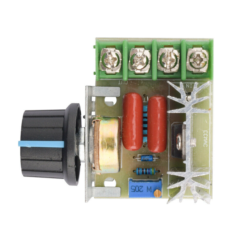 2000w 220v Ac Scr Electric Voltage Regulator Motor Speed Control Picture Of Using Controller