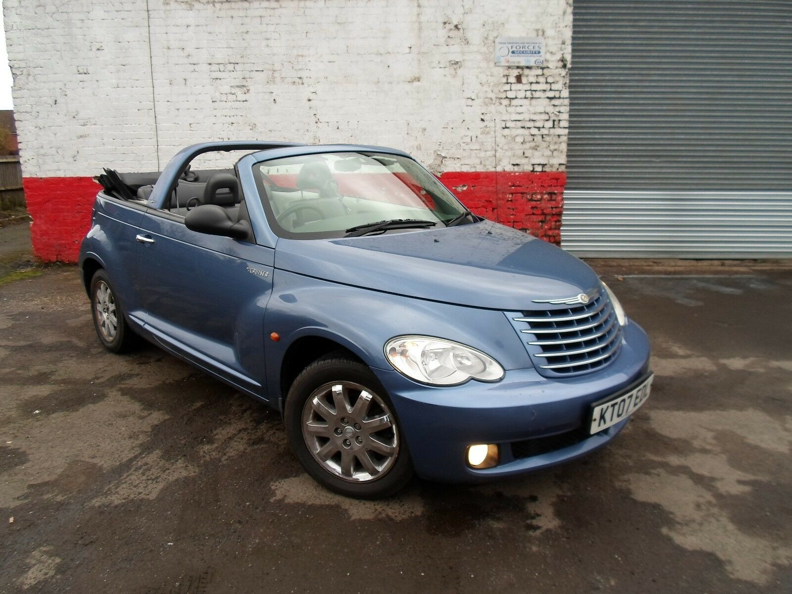 2007 07 chrysler pt cruiser 2 4 ltd edition cabriolet. Black Bedroom Furniture Sets. Home Design Ideas