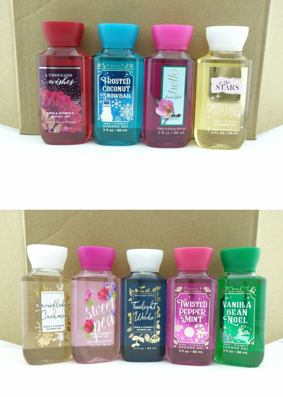 Bath Body Works 3oz Shower Gel Wash Travel Size Shea Butter 1 Of 4free Shipping