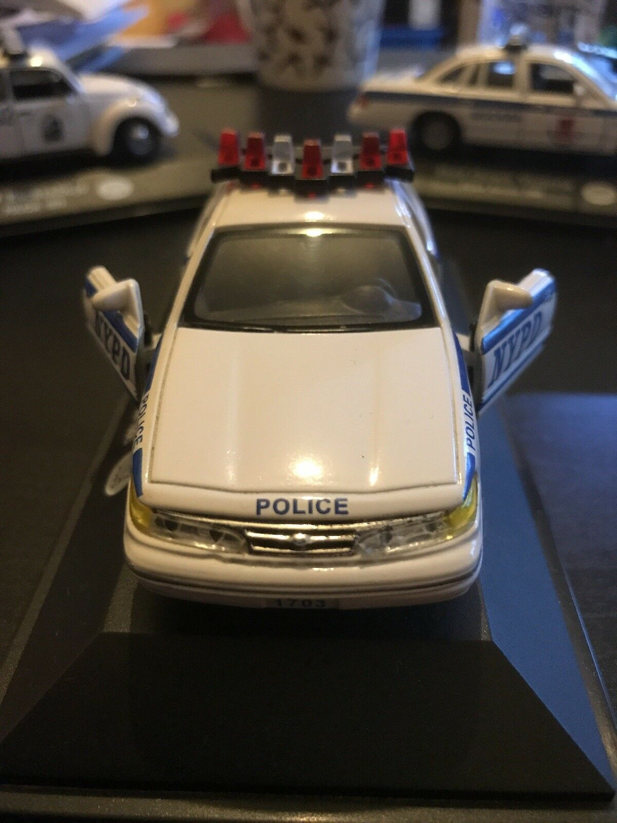 Ford Crown Victoria New York Police Department 1995 Nypd Rare 1 Of 7 See More