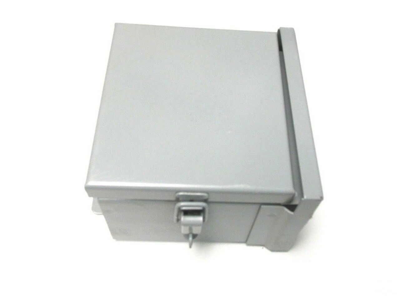 New Hoffman Metal Hinged Enclosure Nema 3r Cat A6r64hcr Vq Wiring Trough 12 1 Of 4only Available