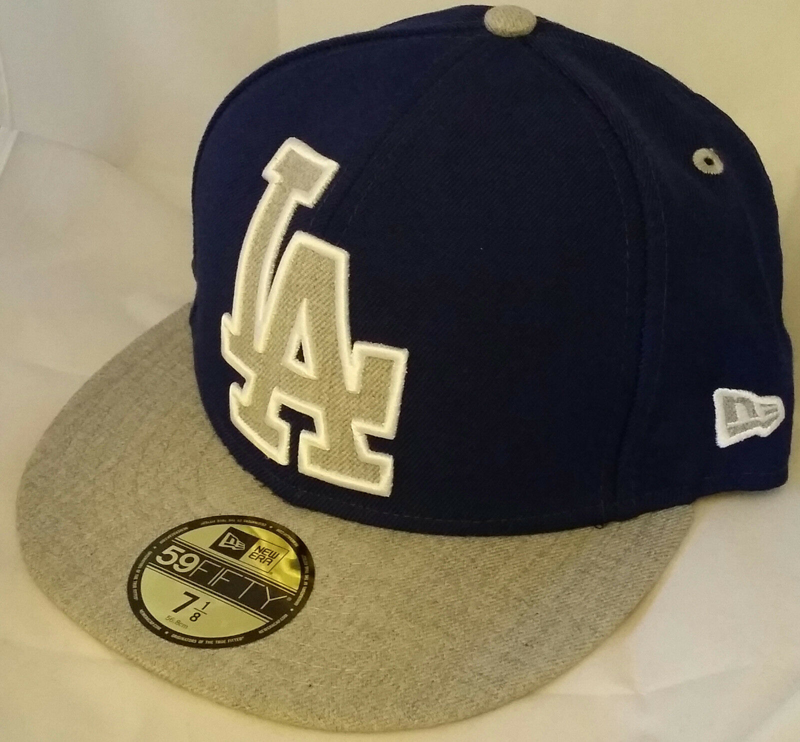 91b97a5312b NWT NEW ERA Los Angeles LA DODGERS CA 59FIFTY size fitted baseball cap hat  mlb 1 of 3Only 3 available ...
