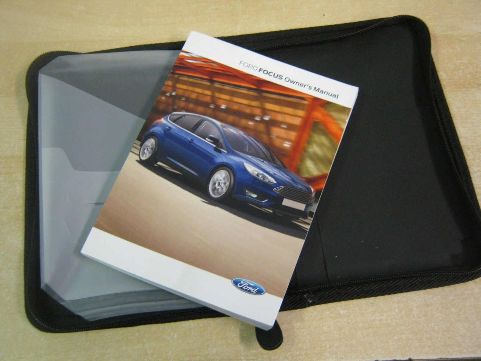 Ford Focus Owners Manual -Owners Handbook 2013-2016 Covers Audio Book Nom8  1 of 1 See More