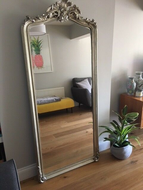 Laura Ashley Patricia Floor Mirror Champagne Full Length Perfect Cond 1 Of 11 See More