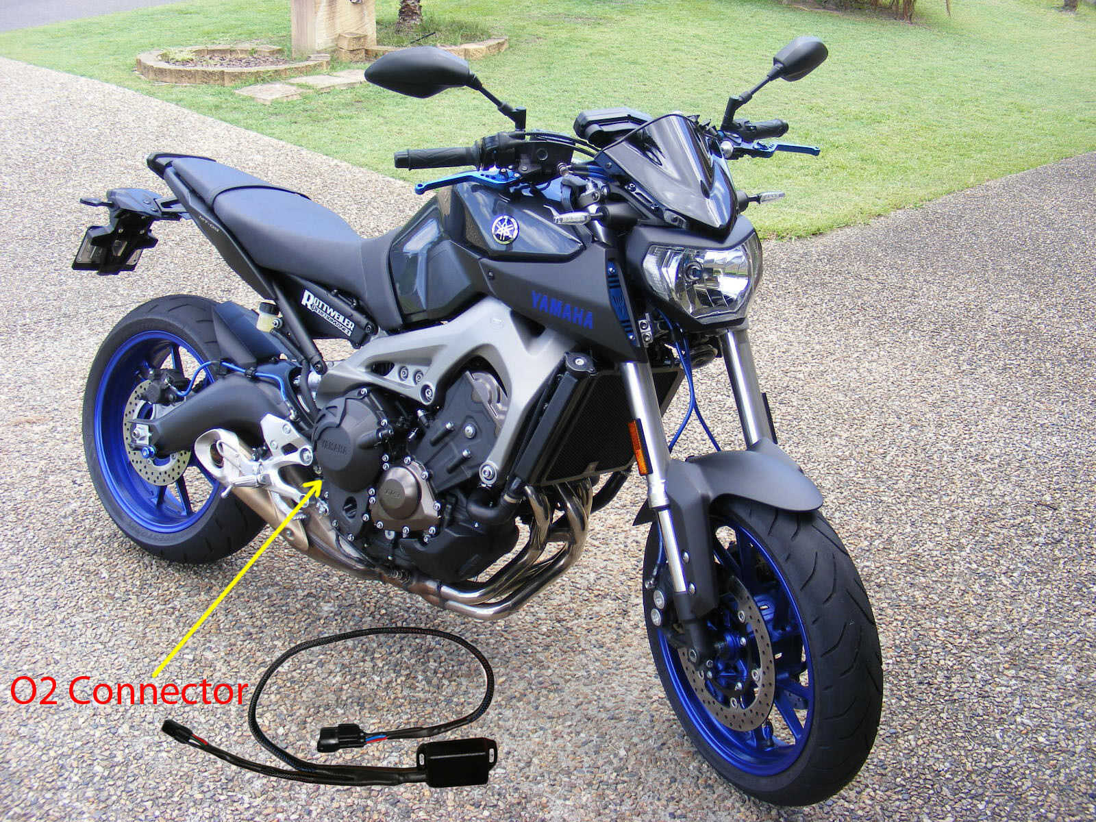 yamaha mt 09 fz 09 mt09 fz09 tracer fj09 fj 09 o2. Black Bedroom Furniture Sets. Home Design Ideas