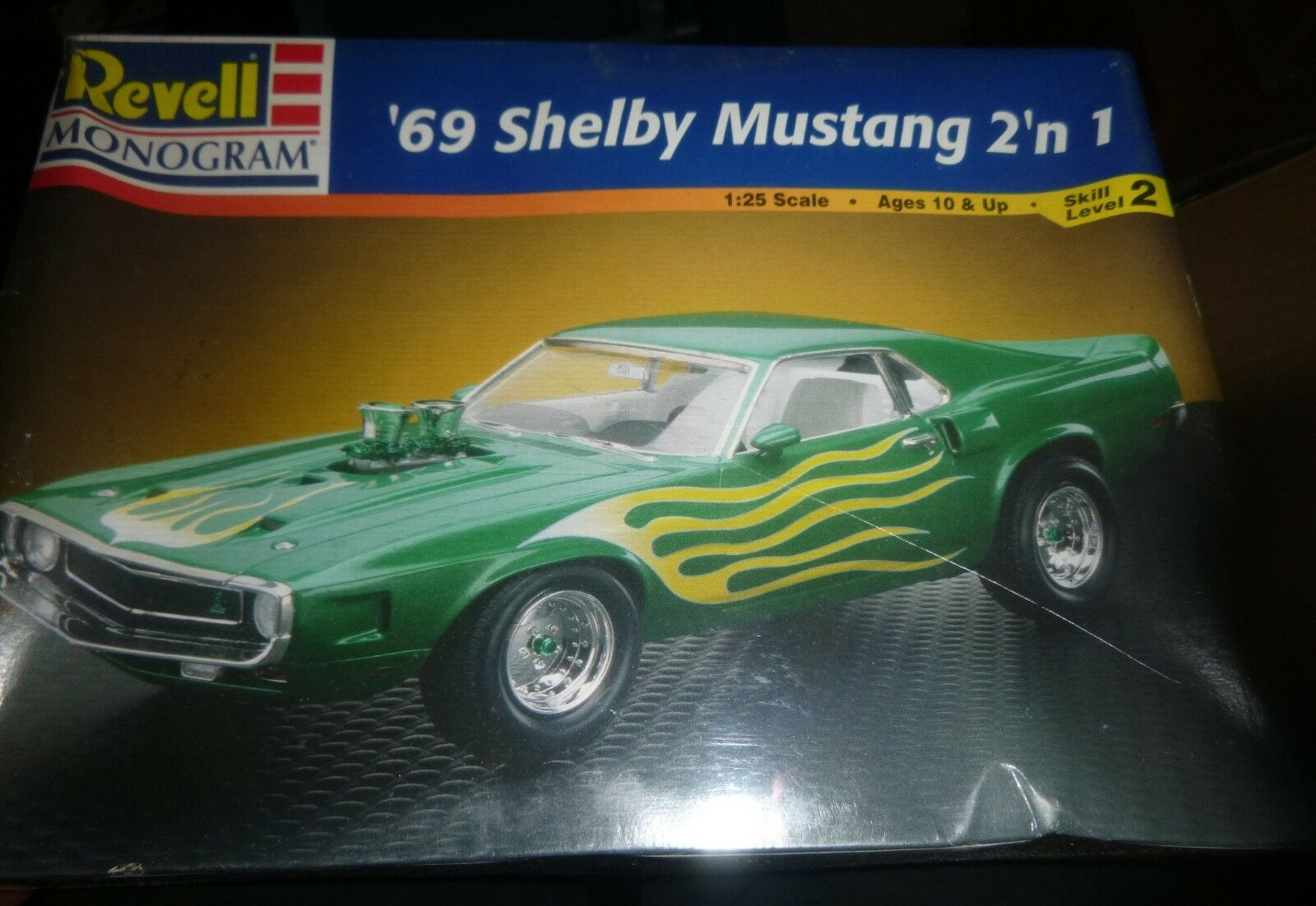 Revell 85 2545 1969 Ford Mustang Shelby Gt 5oo 1 25 Model Car Of 3only 0 Available