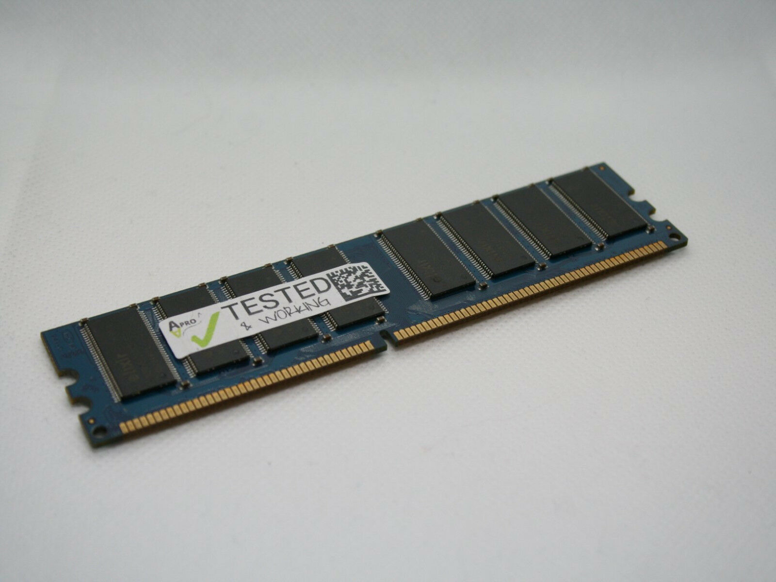 Working 1gb 2 X 512mb Ddr1 400mhz Dimm Pc 3200 Ram Memory Ddr 1 512 Mb Of 3free Shipping