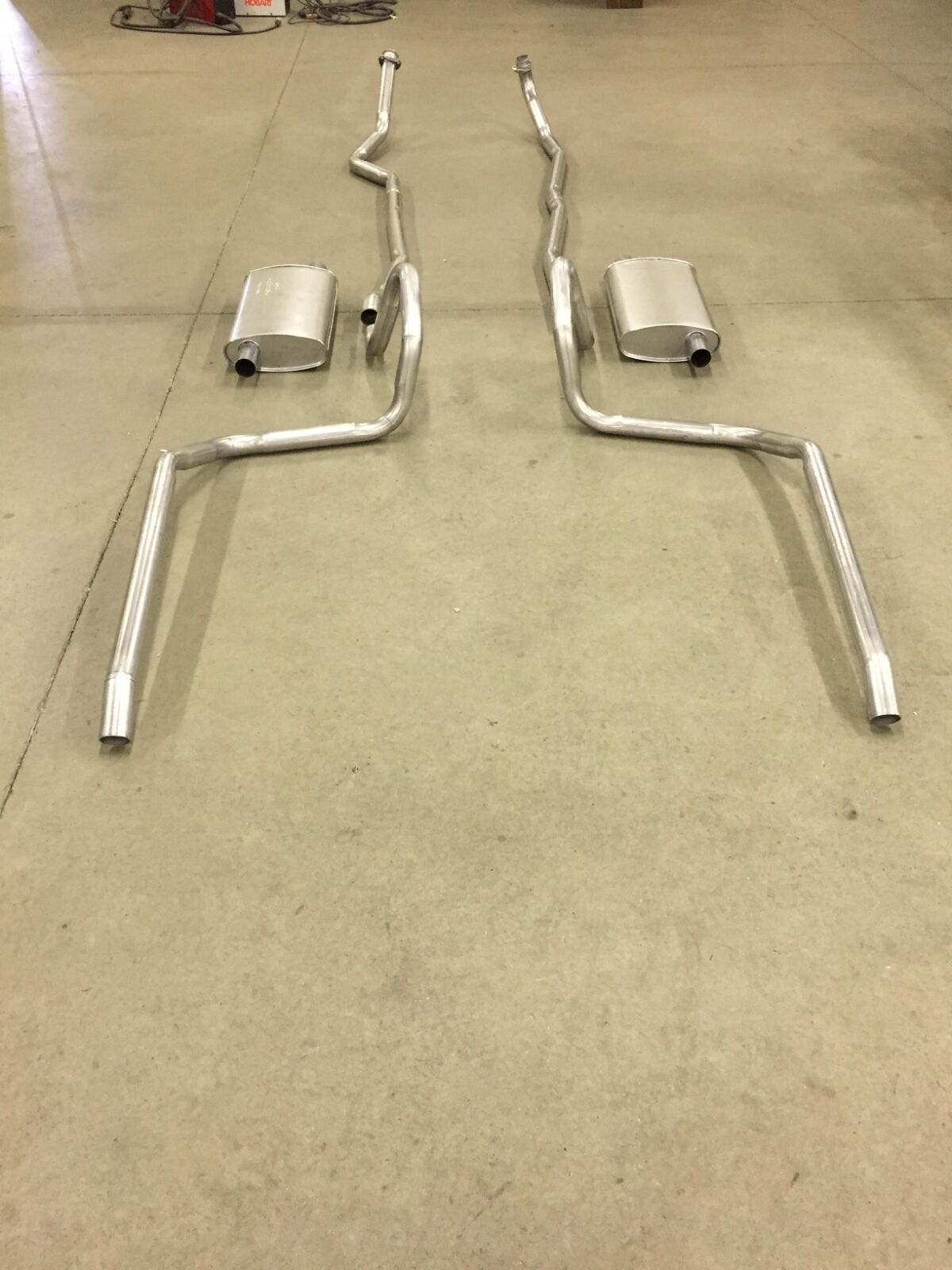 1965 1966 Chevy Belair Biscayne Impala Dual Exhaust Aluminized Chevrolet Bel Air 396 1 Of See More