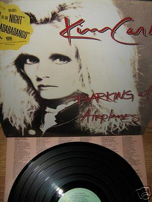 KIM CARNES ~ Barking at Airplanes lp RARE PROMO MINT!