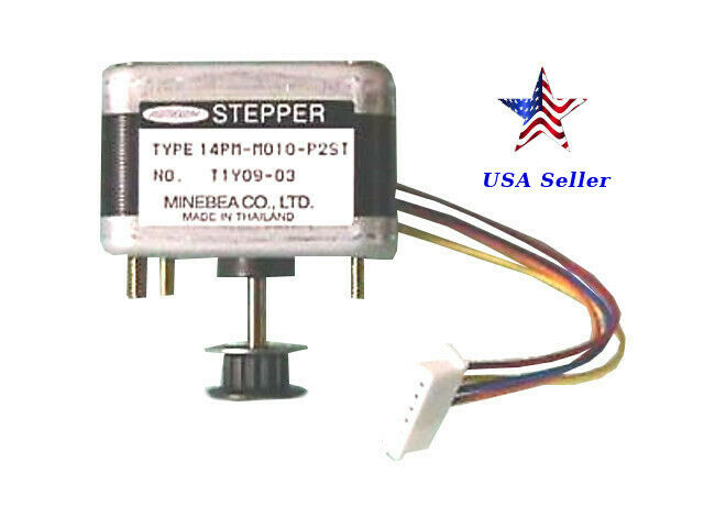 Astrosyn t1y09 03 type 14pm m010 p2st size 14 stepper for Types of stepper motor