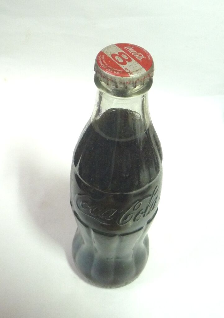 Old Glass COCA COLA Bottle THAILAND 1998 COKE Rare