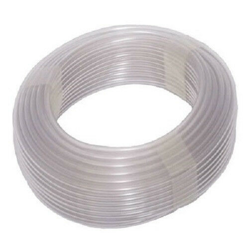 20M x 6mm SOFT SILICONE AIRLINE AIR TUBE AQUARIUM FISH TANK POND AIR HOSE TUBING
