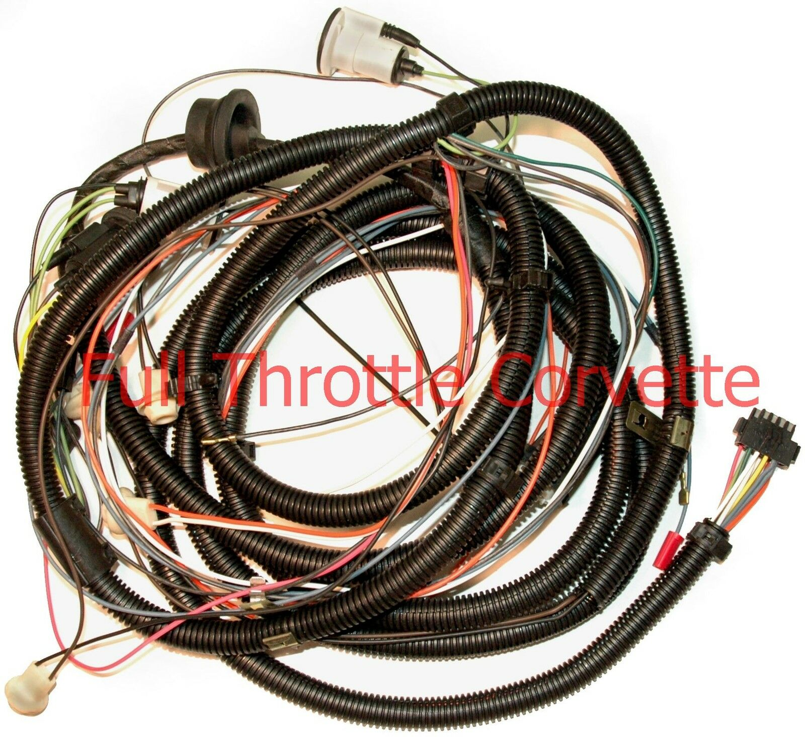 1978 Corvette Wiring Harness Trusted Schematics Diagram 1976 Rear Body Without Factory Speaker 2008