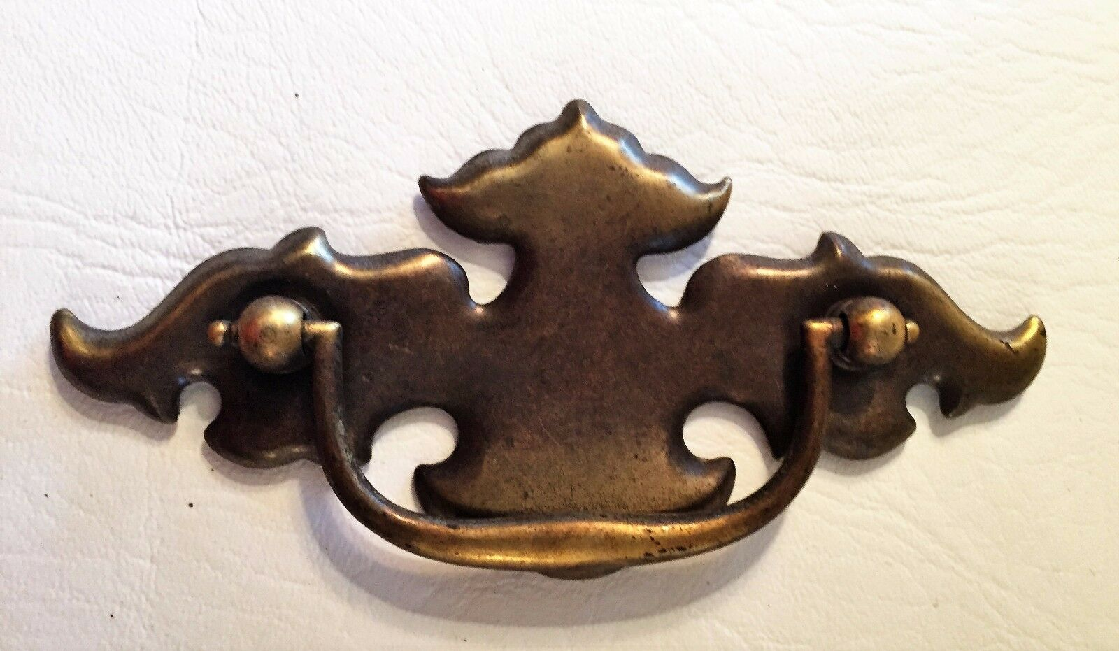 """Antique Hardware .. Chippendale Batwing drawer pulls..3"""" on center"""