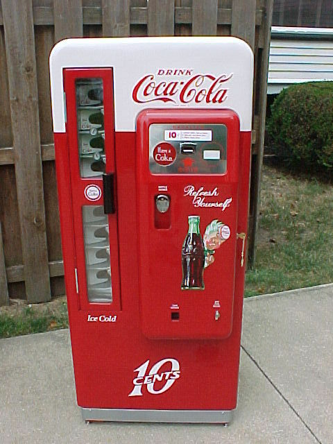 cavalier coke machine