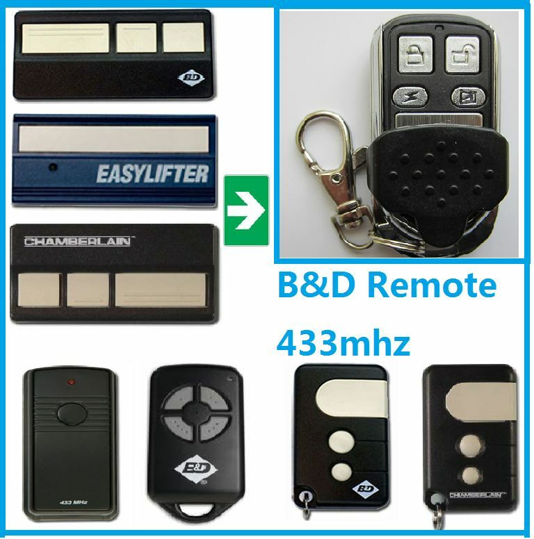 B d garage door remote control bnd opener 433mhz auto rolling code protection picclick au - Rolling code garage door remote ...