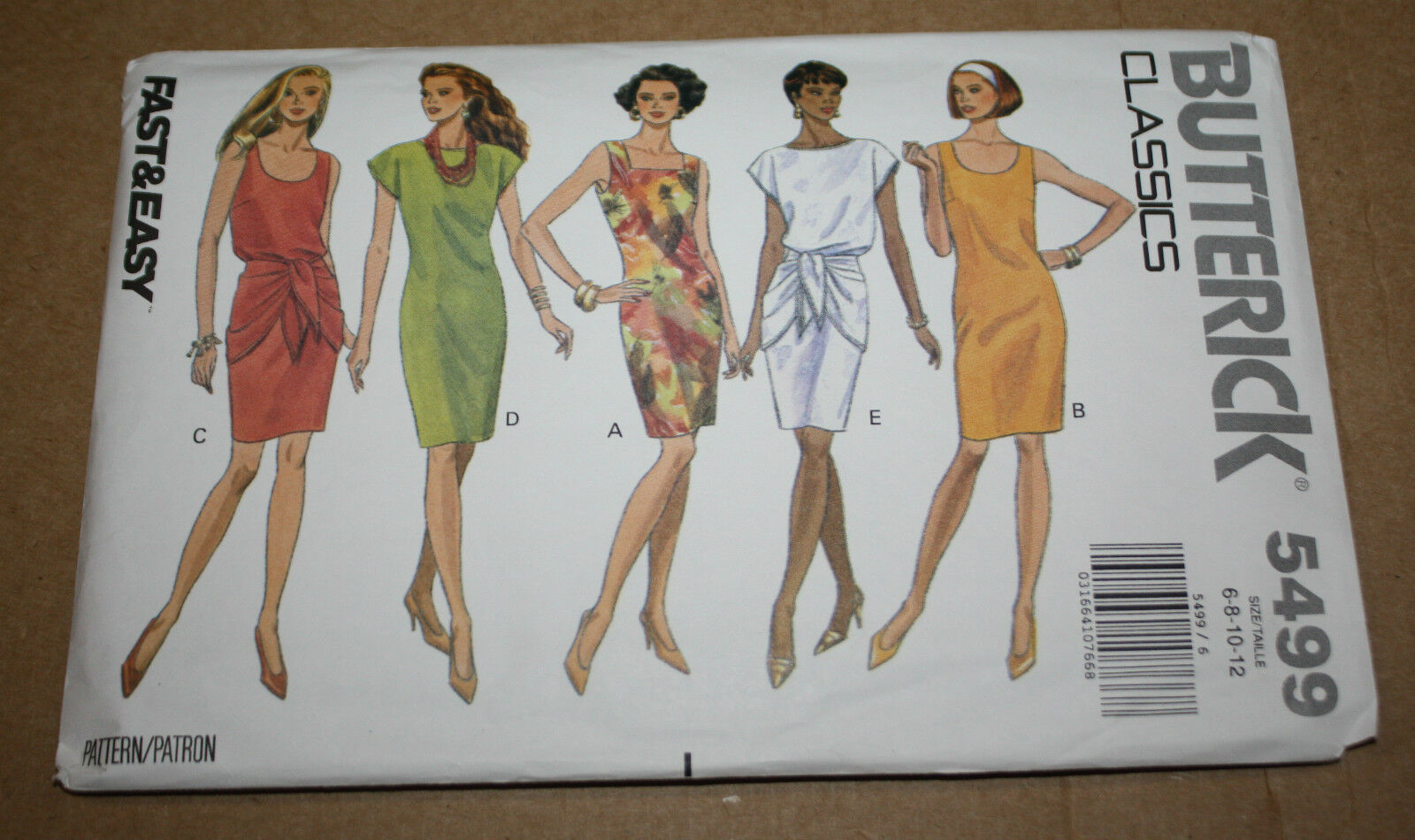 1990s vintage sewing pattern butterick 5499 misses petite dress 1990s vintage sewing pattern butterick 5499 misses petite dress size 6810 jeuxipadfo Gallery