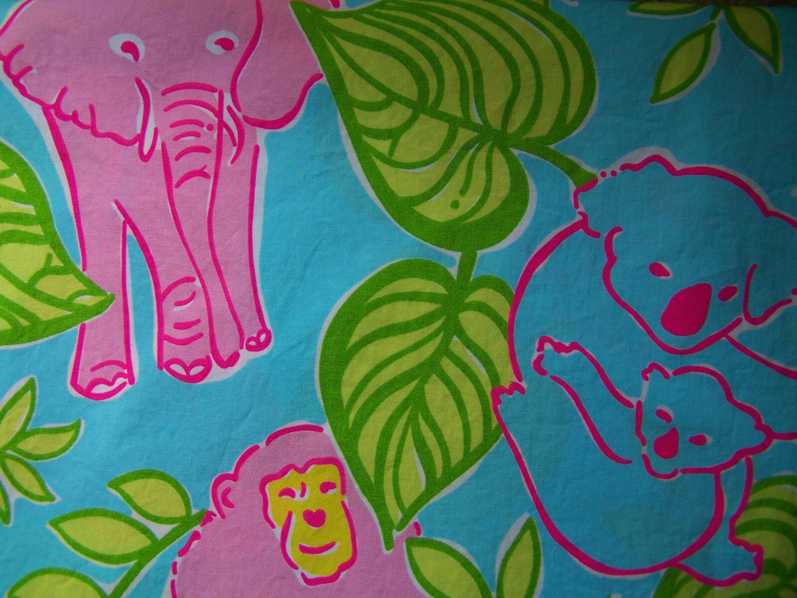 """BABY BURP CLOTH LILLY PULITZER FABRIC SAN"""