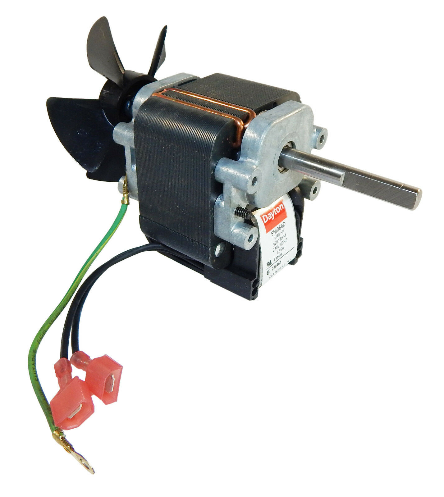 Dayton electric c frame vent fan motor 1 40 hp 3000 rpm Commercial exhaust fan motor