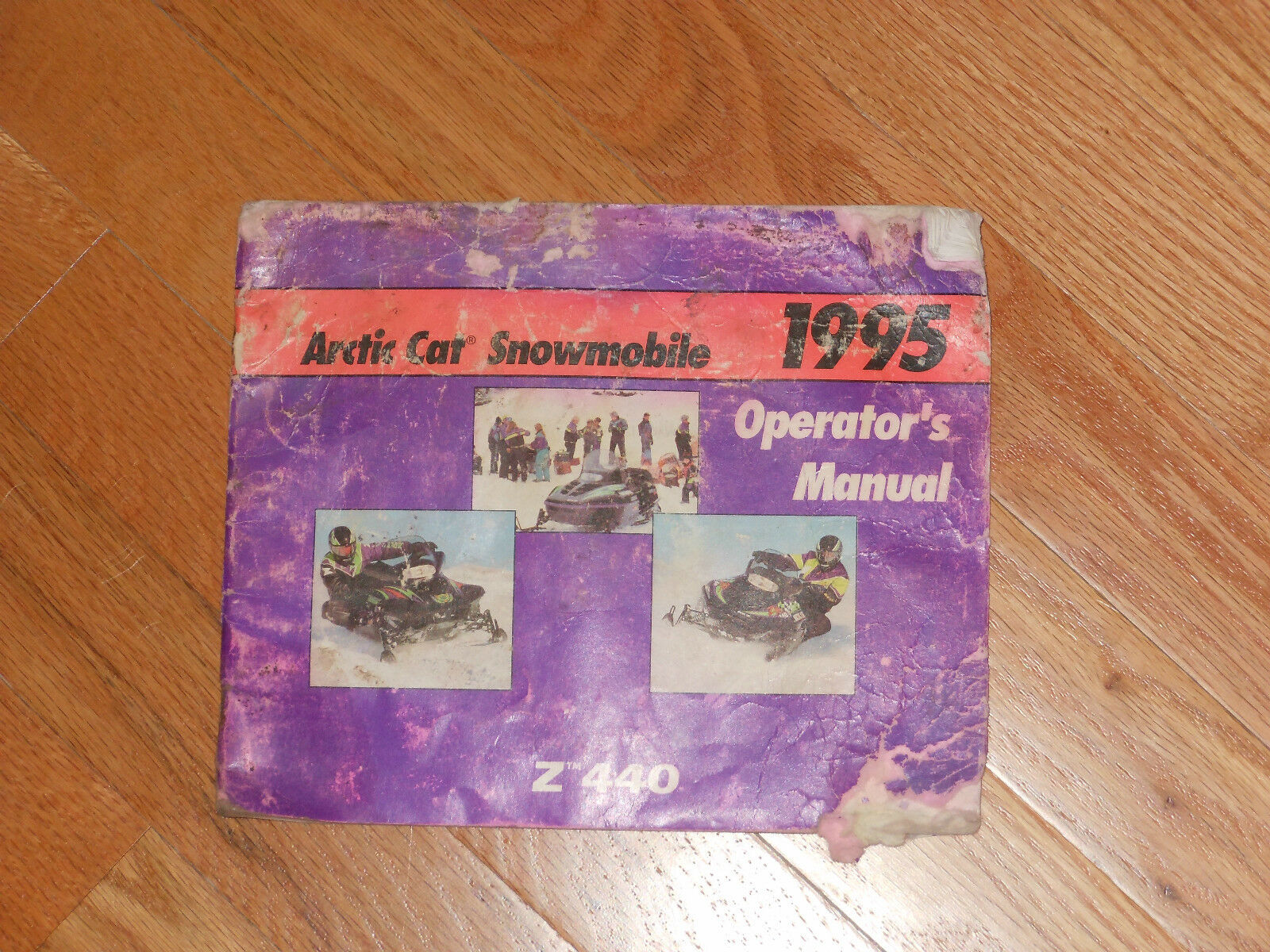 1995 ARCTIC CAT ( Z tm 440 ) SNOWMOBILE OPERATOR'S MANUAL 1 of 1Only 1  available ...