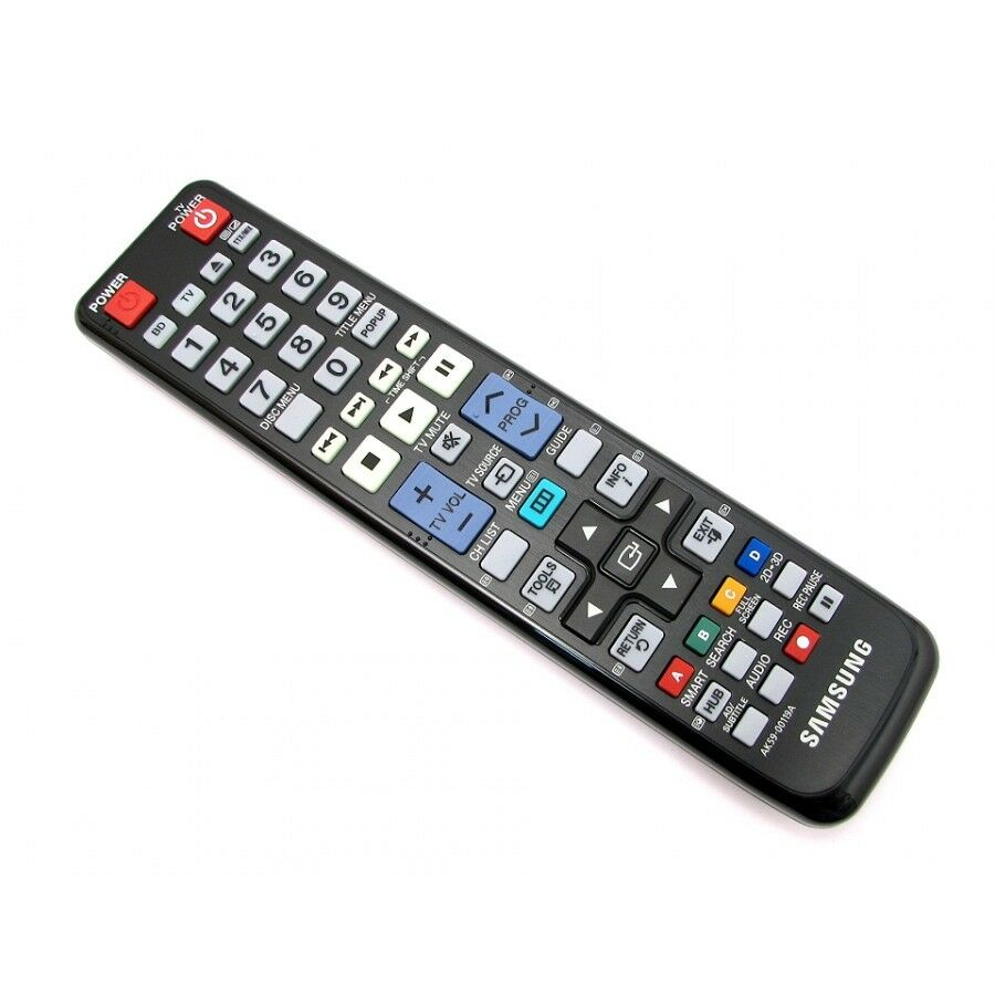 how to use samsung tv remote for blu ray