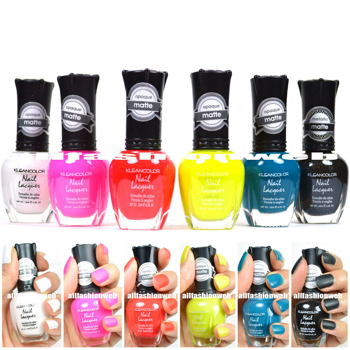 Kleancolor Nail Polish NEW & HOT \