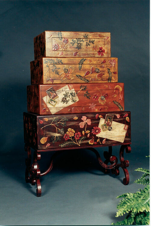 Suitcase Look Chest of Drawers Bureau